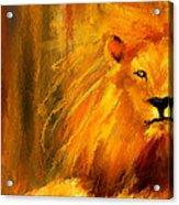 Hail The King Acrylic Print