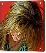 Hair Acrylic Print by Roberto Galli della Loggia