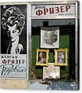 Hairdresser. Belgrade. Serbia Acrylic Print