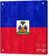 Haiti Flag Acrylic Print