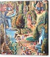 Haitian Village Acrylic Print