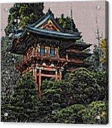 Hakoni Tea House Acrylic Print