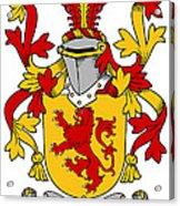 Hale Coat Of Arms Irish Acrylic Print