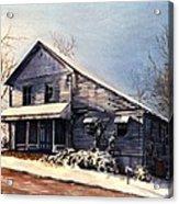 Hale's Store Acrylic Print by Melodye Whitaker