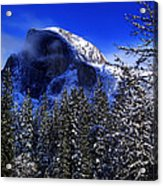 Half Dome Clearing Acrylic Print