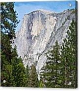 Half Dome In Spring In Yosemite Np-2013 Acrylic Print