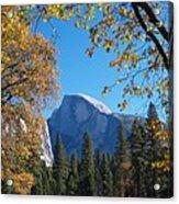 Half Dome In Yosemite Acrylic Print