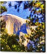 Half Dome Opus I Acrylic Print