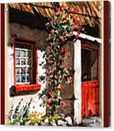 Wexford  Half Door Acrylic Print