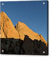 Half Moon At Garden Of The Gods Acrylic Print