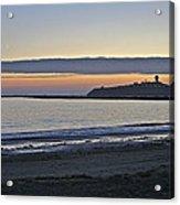Half Moon Bay Sunset Acrylic Print
