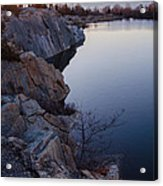 Halibut Point In Rockport Acrylic Print