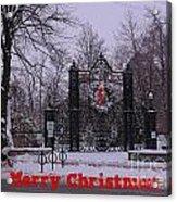Halifax Christmas Acrylic Print
