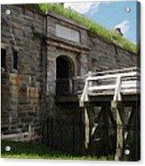 Halifax Citadel Acrylic Print
