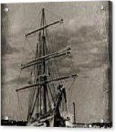 Halifax Harbour Acrylic Print by John Malone