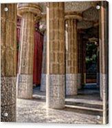 Hall Of 100 Columns Acrylic Print