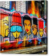 Hall Of Fame At Hosier Lane	 Acrylic Print