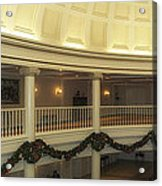Hall Of Presidents Walt Disney World Panorama Acrylic Print