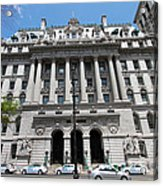Hall Of Records - Surrogate's Courthouse Acrylic Print