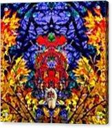 Hall Of The Color King Acrylic Print