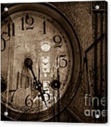 Hall Of Time Acrylic Print by Pam Vick