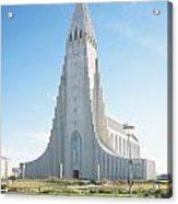 Hallgrimskirkja Church - Iceland Acrylic Print