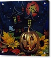Halloween 2014 Acrylic Print by Rosalie Klidies