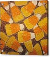 Halloween Candy Corn Acrylic Print