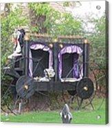 Halloween Carriage Acrylic Print