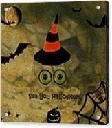 Halloween Eyes Acrylic Print