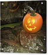 Halloween Jack O Lanterns Acrylic Print