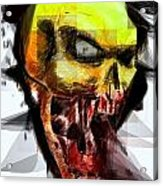 Halloween Mask Acrylic Print