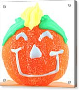 Halloween Pimpkin Sweet Acrylic Print