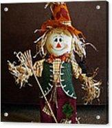 Halloween Scarecrow Acrylic Print
