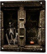 Halloween Skeleton Acrylic Print