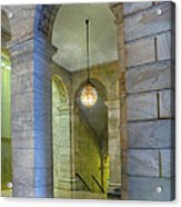 Hallway New York Public Library Acrylic Print