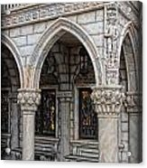 Hallways Of St. Mark's Acrylic Print by Lee Dos Santos