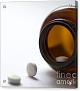 Haloperidol Tablets And Bottle Acrylic Print