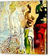 Halucinogenic Toreador By Salvador Dali Acrylic Print