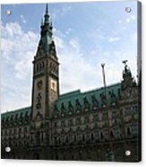 Hamburg - City Hall - Germany Acrylic Print