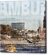 Hamburg Acrylic Print