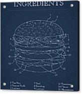 Hamburger Acrylic Print