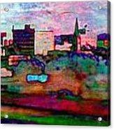 Hamilton Ohio City Art 10 Acrylic Print