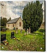 Hamlet Church Acrylic Print