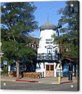 Hamlet Square Solvang California Acrylic Print