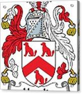 Hamlin Coat Of Arms Irish Acrylic Print