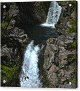 Hamma Hamma Falls Acrylic Print