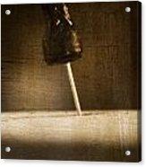 Hammer And A Nail Acrylic Print