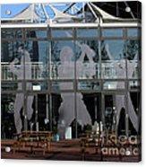 Hampshire County Cricket Glass Pavilion Acrylic Print