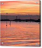 Hampshire Sunset Acrylic Print